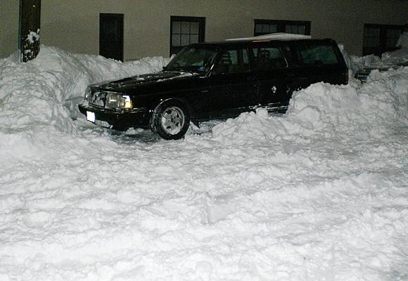 snow-shoveled